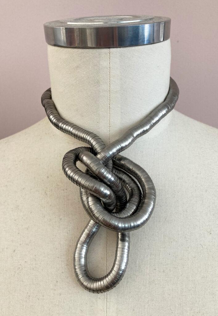 Flexible bendable snake necklace
