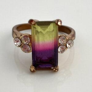 ring met kleurverloop