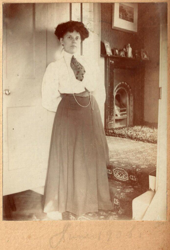 Ethel hook met guard chain zakhorloge ketting