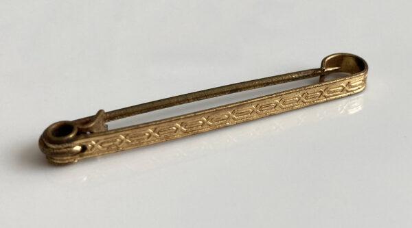 jaren 20-30 kraagspeld, collar pin