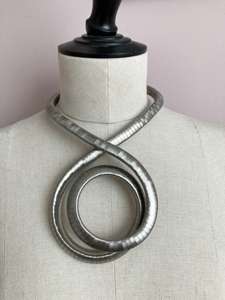 breil bendable snake necklace